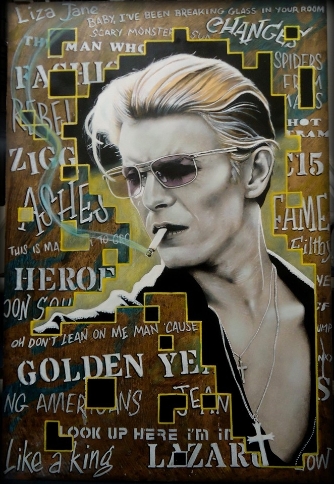 David Bowie by marcart